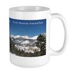 Rocky Mountain National Park Large Mugs