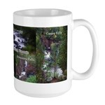 Copper Falls State Park Large Mugs