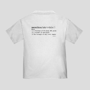 Marathon Definition Toddler T-Shirt