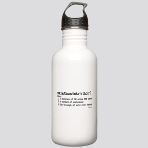 Marathon Definition Stainless Water Bottle 1.0L