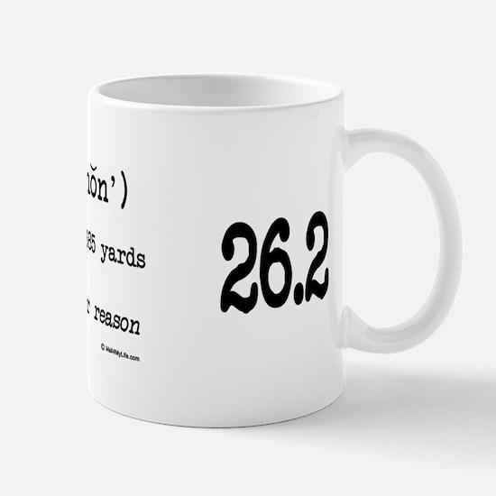 Marathon Definition Mug