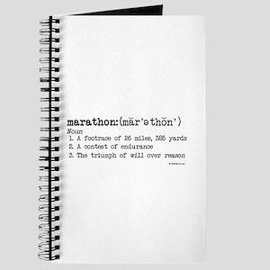 Marathon Definition Journal