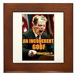 An Inconvenient Al Gore Framed Tile