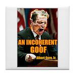 An Inconvenient Al Gore Tile Coaster