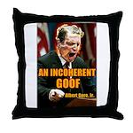 An Inconvenient Al Gore Throw Pillow