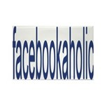 Facebookaholic Magnets (10 pack)