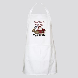 Santa Is Vegan Apron
