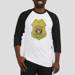 Retired Law Enforcement Baseball Jersey