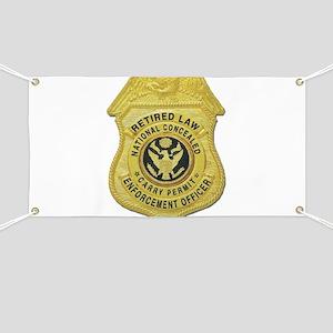 Retired Law Enforcement Banner