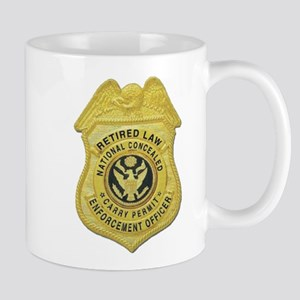 Retired Law Enforcement Mug