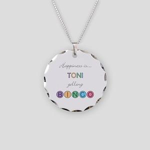 Toni BINGO Necklace Circle Charm