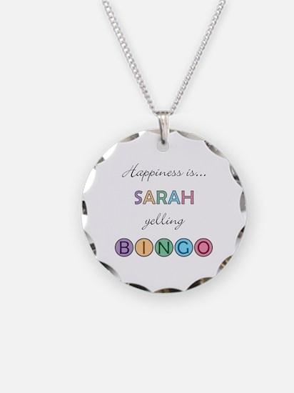 Sarah BINGO Necklace