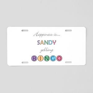 Sandy BINGO Aluminum License Plate
