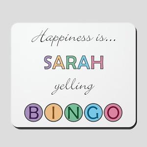 Sarah BINGO Mousepad