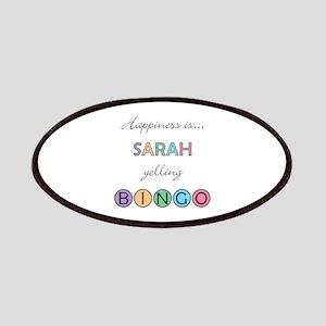 Sarah BINGO Patch