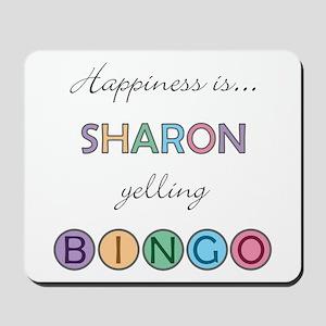 Sharon BINGO Mousepad