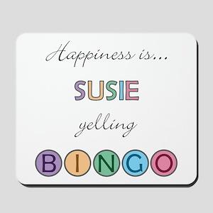 Susie BINGO Mousepad