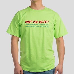 Concrete Slab Green T-Shirt