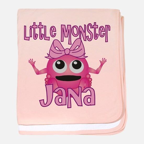 Little Monster Jana baby blanket