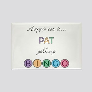 Pat BINGO Rectangle Magnet