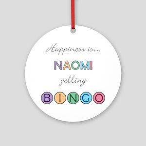 Naomi BINGO Round Ornament