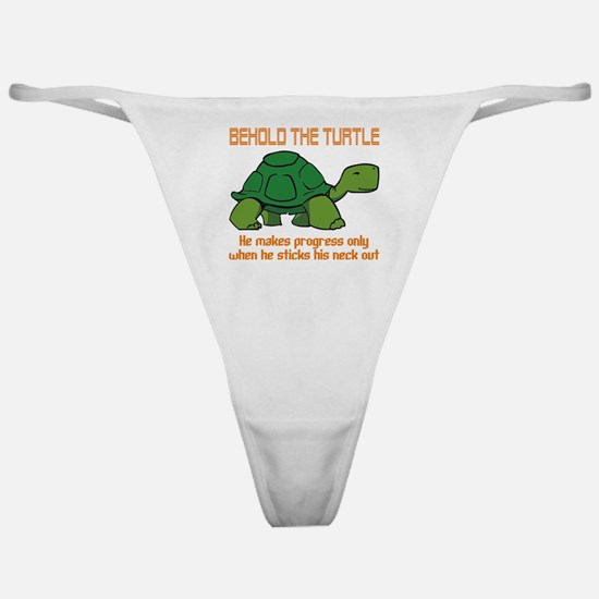 Behold the Turtle Classic Thong