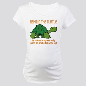 Behold the Turtle Maternity T-Shirt