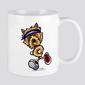 Norwich Terrier Running Mug