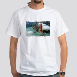 San Francisco Bay Gifts White T-Shirt