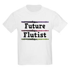 Future Flutist Music Kids Light T-Shirt