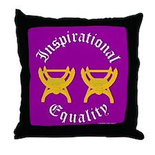 Inspirational Equality Throw Pillow