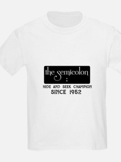 The semicolon T-Shirt