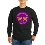 Inspirational Equality Long Sleeve Dark T-Shirt