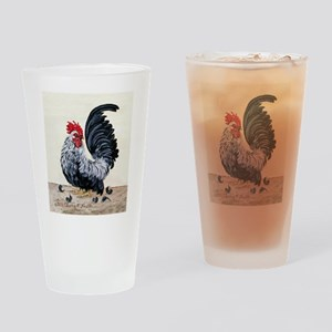 Chicken - Talk to the Tail Drinking Glass