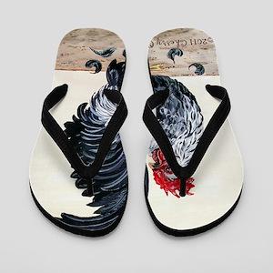 Chicken - Talk to the Tail Flip Flops