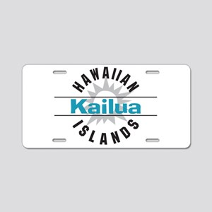 Kaliua Oahu Hawaii Aluminum License Plate