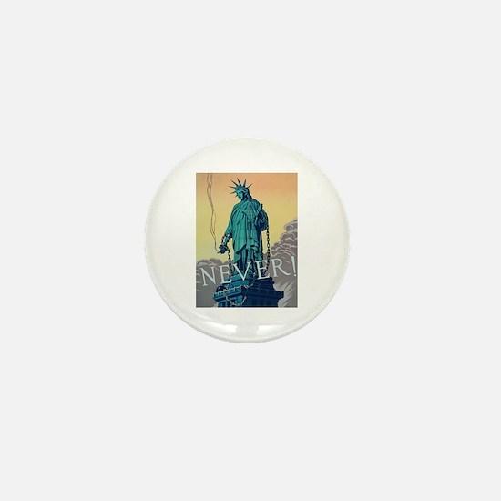 Statue of Liberty Freedom Mini Button