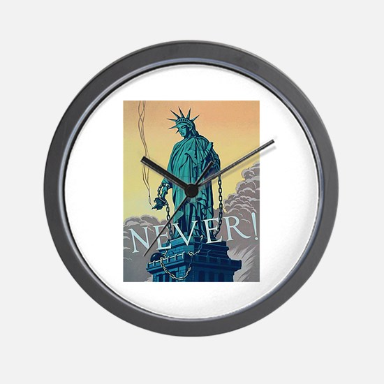 Statue of Liberty Freedom Wall Clock