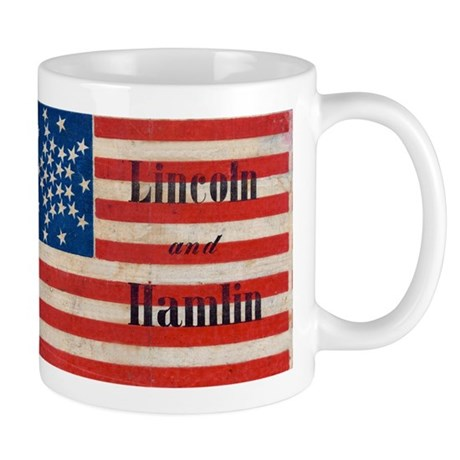 Lincoln and Hamlin Mug