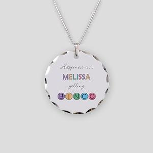 Melissa BINGO Necklace Circle Charm
