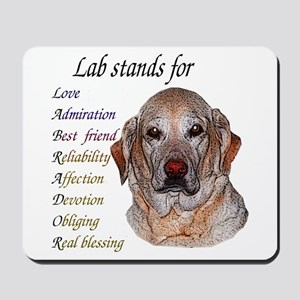 All about Lab's Mousepad