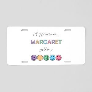 Margaret BINGO Aluminum License Plate