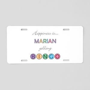 Marian BINGO Aluminum License Plate