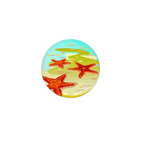 STARFISH {2} Mini Button (100 pack)