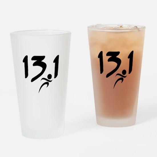 13.1 run Drinking Glass