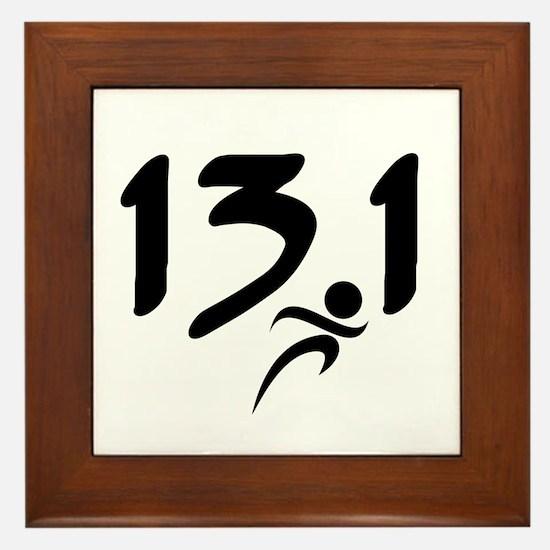 13.1 run Framed Tile