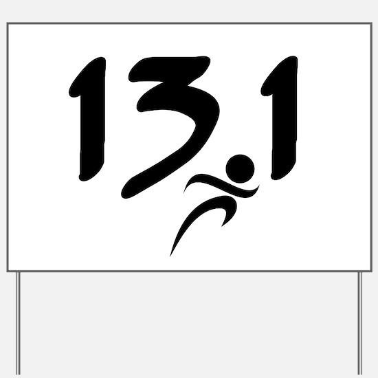 13.1 run Yard Sign