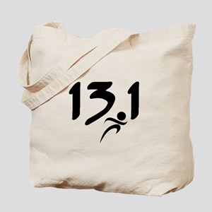 13.1 run Tote Bag
