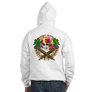 Diego Garcia Jolly Roger Hooded Sweatshirt