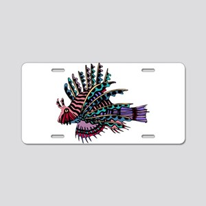 TROPICAL FISH {2} Aluminum License Plate